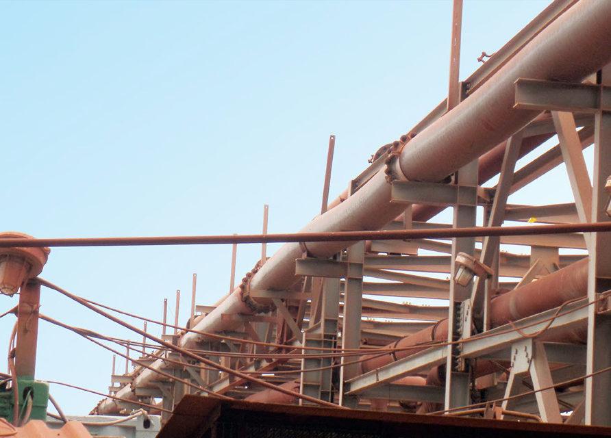 Leached slurry transportation pipelines Pexgol